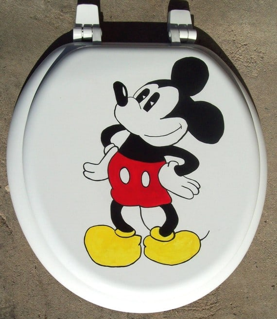 Mickey Mouse Toilet Seat