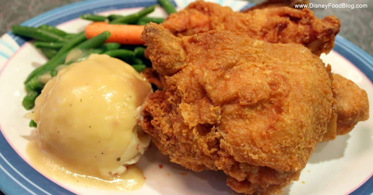 50s Primetime Cafe Fried Chicken