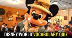 WDW Vocabulary