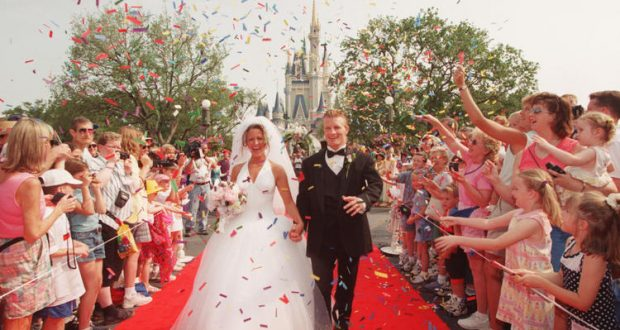 Disney Introduces Weddings At Magic Kingdom During Park Hours