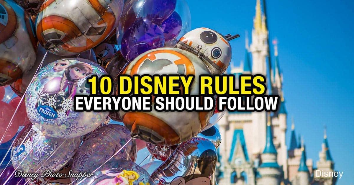 10 Disney Rules