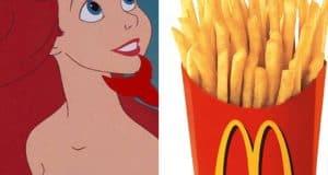 Disney Princess and McDonalds
