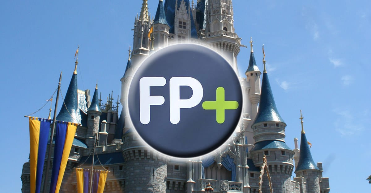 Disney Castle and FastPass