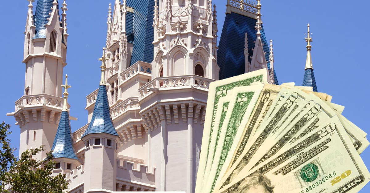 Castle and money