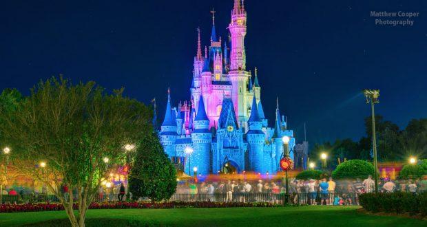 Disney Castle Night