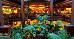 Polynesian Resort Lobby