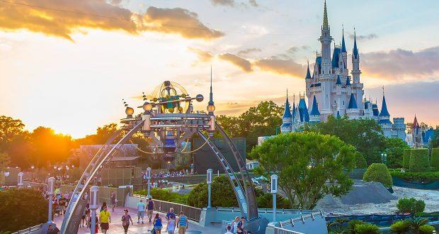 Disney Castle and Bridge