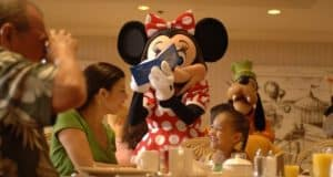 Character Dining Minnie
