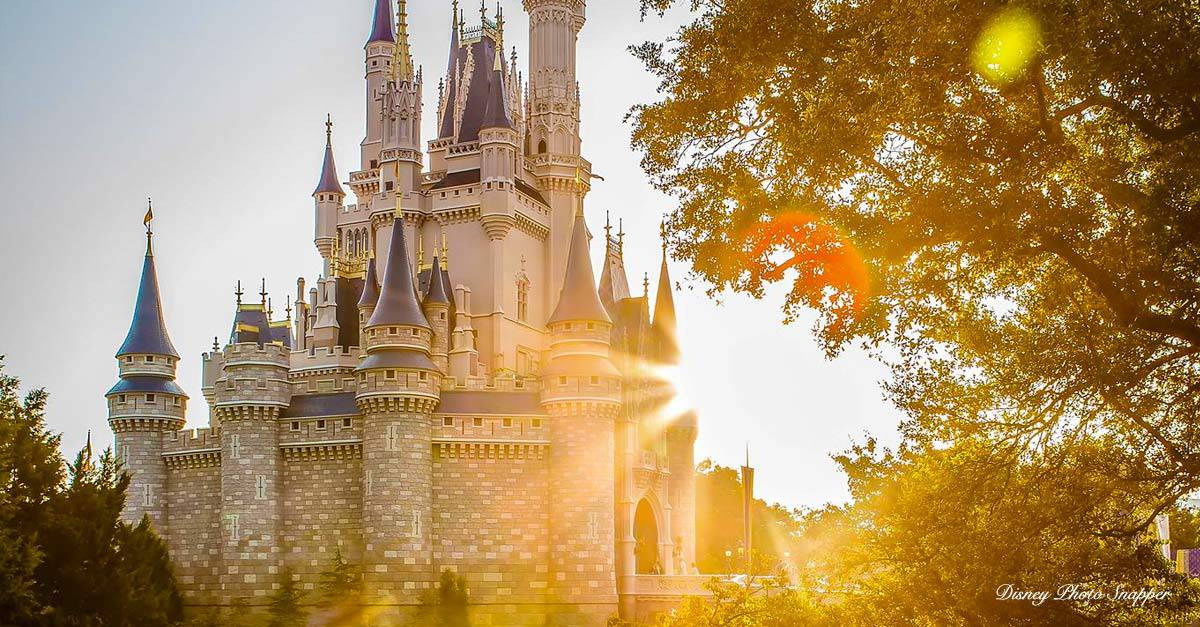 Disney Castle Sunbeam