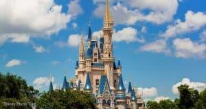 Walt Disney World Castle Daytime Distant