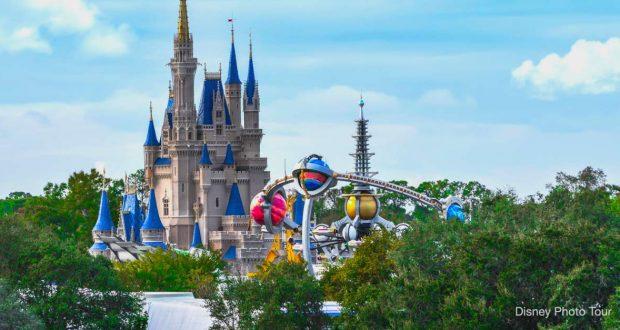 Disney Castle Tomorrowland