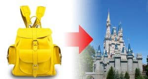 Castle and Backpack