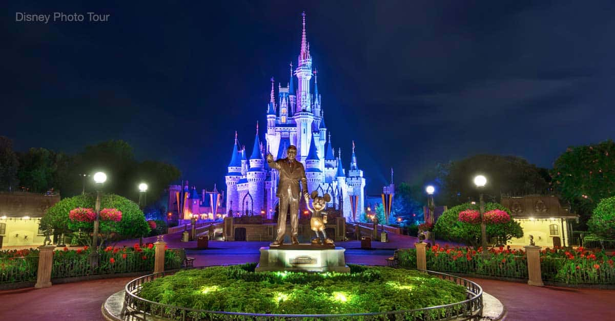 Disneyland Castle At Night 15 Rides at Walt Disne...