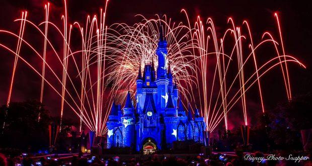 Disney Castle Fireworks