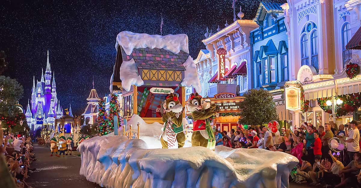 Disney Christmas Float