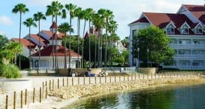 Grand Floridian Resort wall post alligator attack