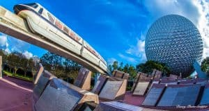 Epcot and Spaceship Earth