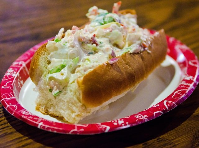 Lobster Roll Columbia Harbor House