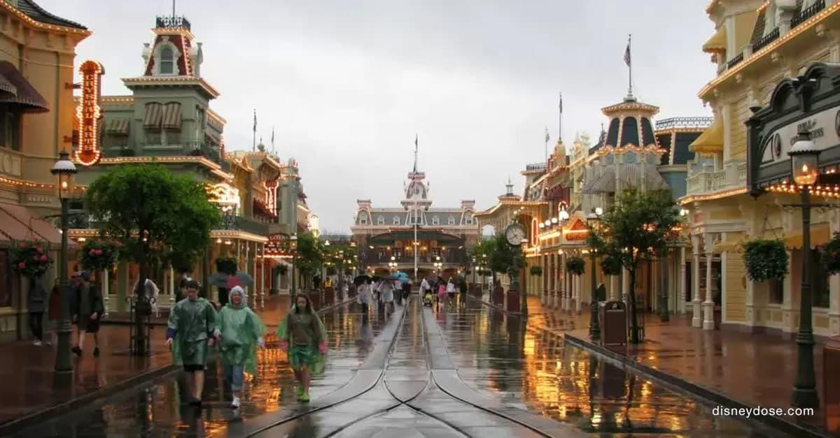 Rainy Disney Day