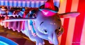 Dumbo Ride Magic Kingdom