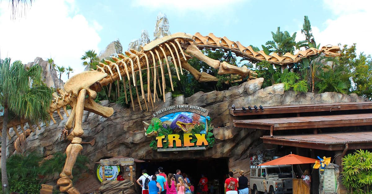 Top 10 unique dining experiences at walt disney world for Disney dining reservations t rex