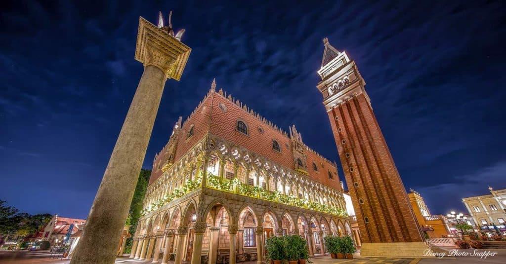 Epcot Italy Night