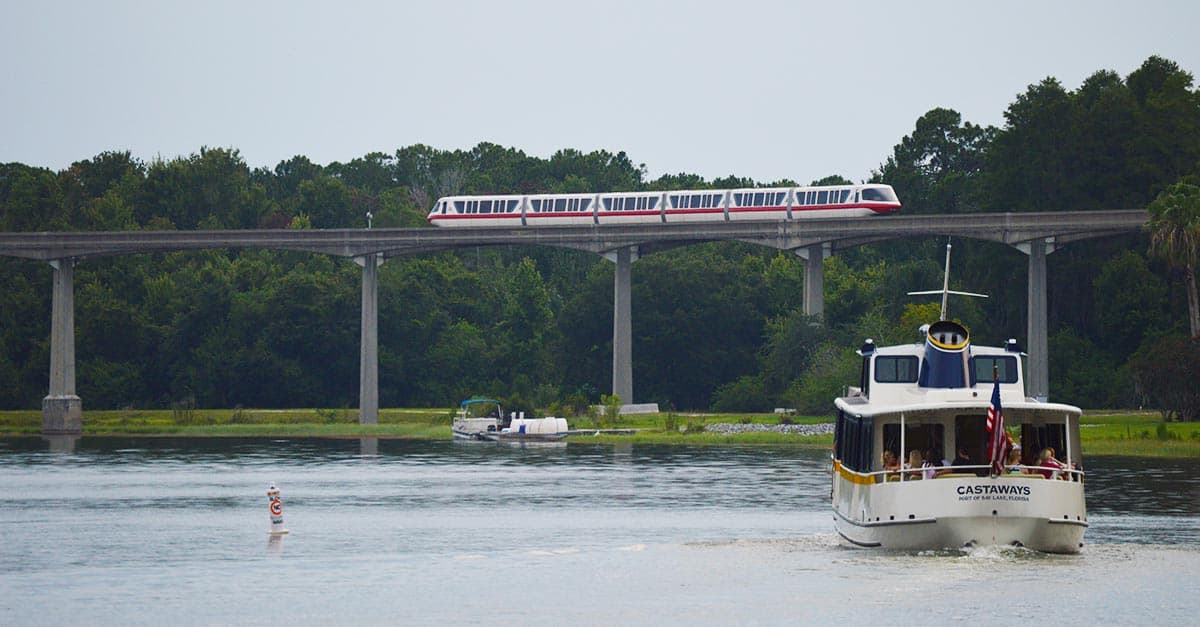 Boat and Monorail