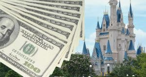 Disney Castle Dollar Bills