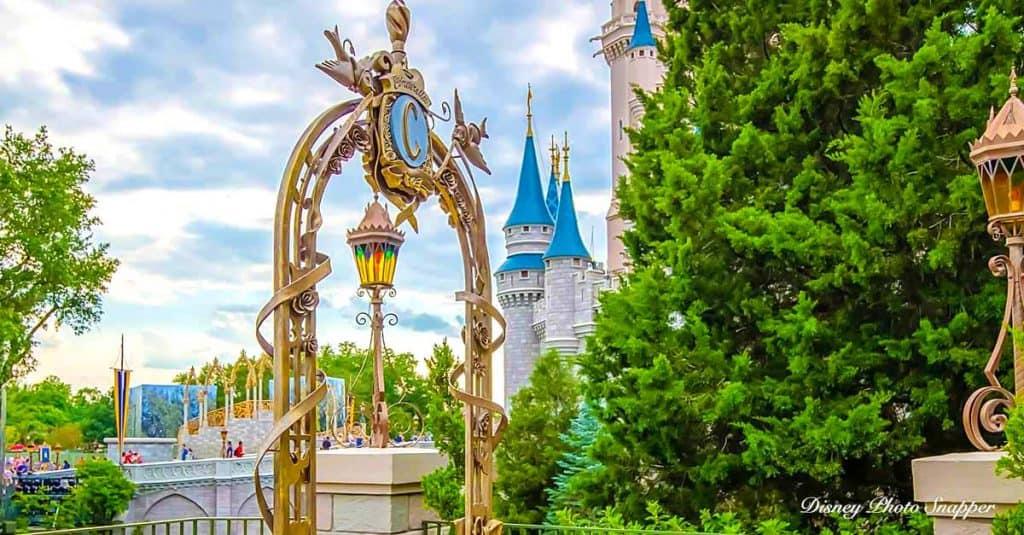Cinderella Castle Wishing Well