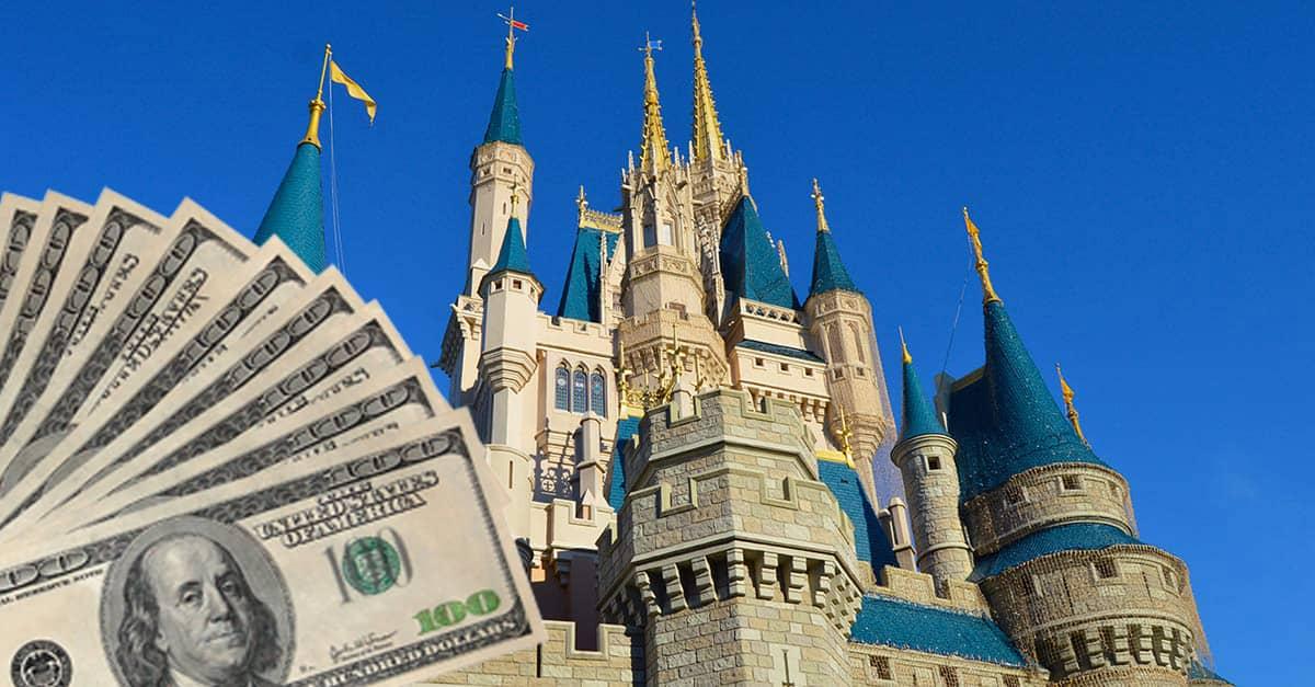 Disney Castle and money