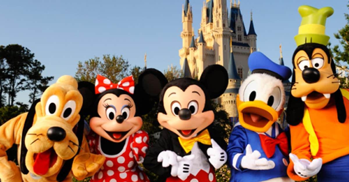 Disney Character meet _ fabulous 5 _ disney fanatic