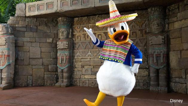 Donald Duck Mexico