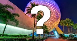 Epcot Question Mark