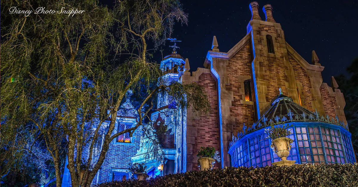 Haunted Mansion Magic Kingdom