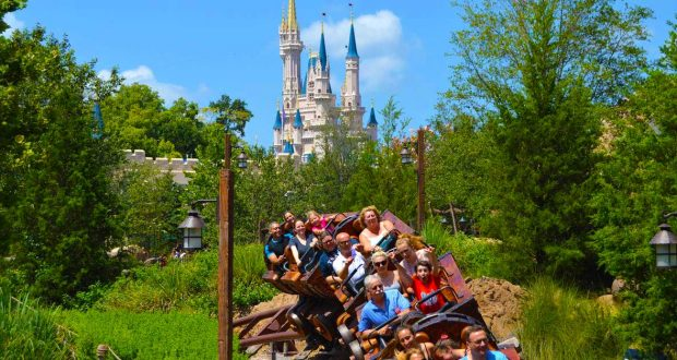 Castle 7 Dwarfs Mine Train