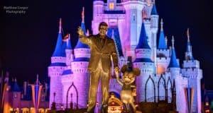 Walt And Mickey Disney Castle