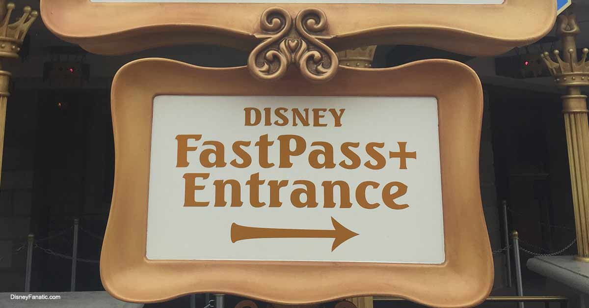 Fastpass Magic Kingdom