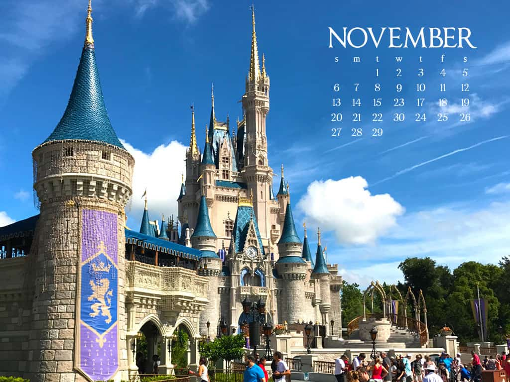 disney magic kingdom desktop wallpaper
