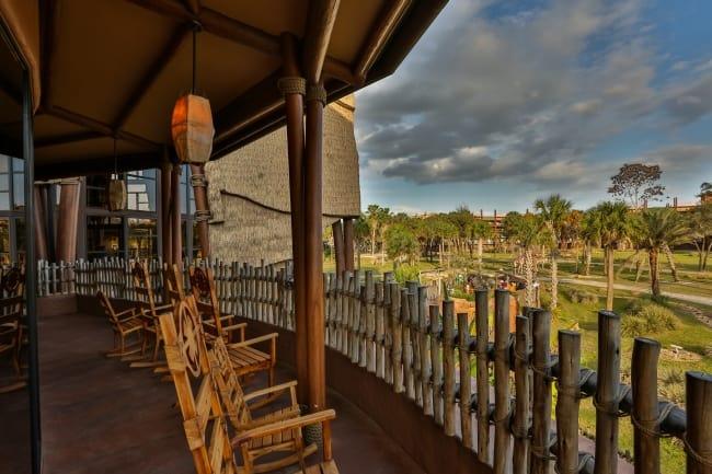 Animal Kingdom Lodge Patio