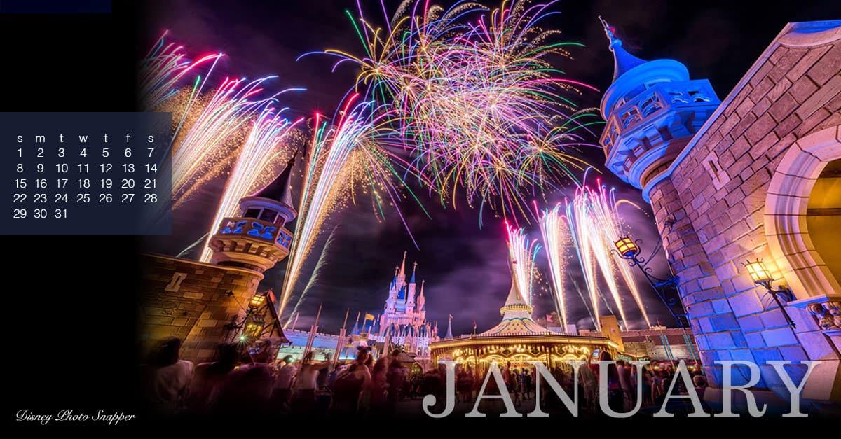 December Cinderella Castle
