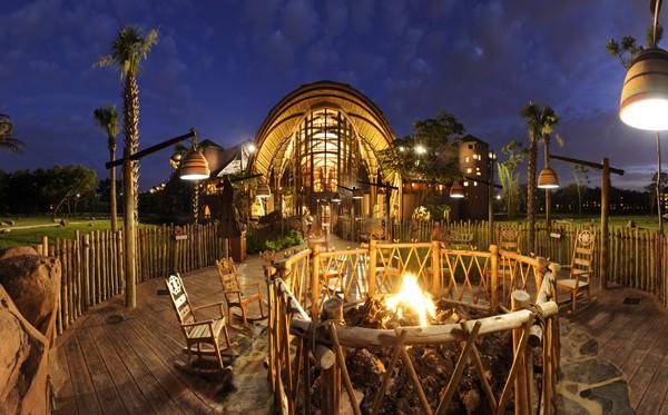 Fire Pit Animal Kingdom Lodge
