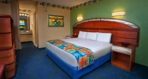 All Star Sports resort room