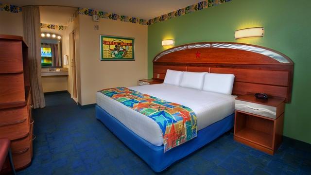 All Star Sports resort room