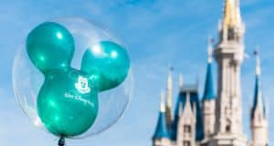 Castle green balloon