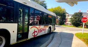 Disney Transportation Bus