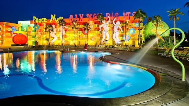 Pop Century Resort Pool