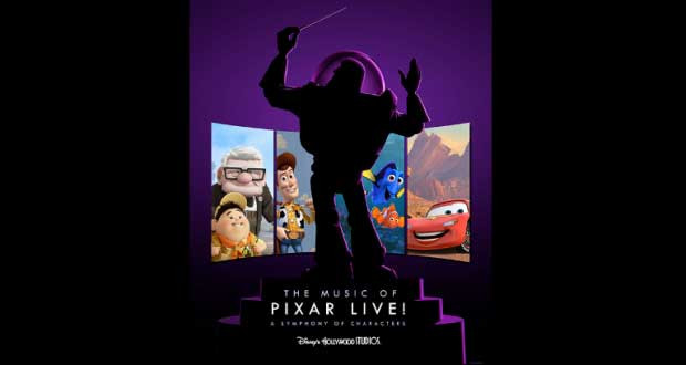 The Music Of Pixar LIve - A Symphony Of Characters