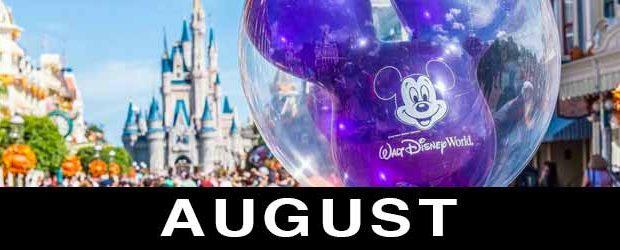 Disney In August