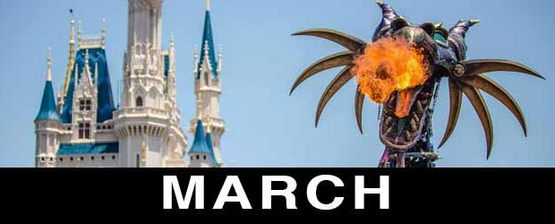 Disney in March