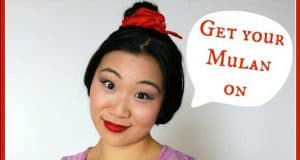Mulan Makeup tutorial